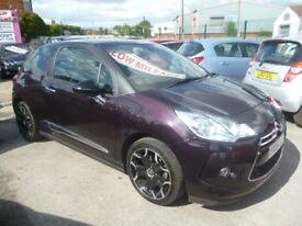 Citroen DS3 D Style+,1598 cc 3 door hatchback,FSH,Full MOT,1 lady owner from new,low mileage 16,000