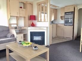 cheap static caravan for sale in towyn north wales with heated indoor swimming pool