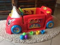Fisher Price Smart Stages car, red
