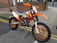 Ktm 125 exc 2016 road registered many extras STUNNING!!
