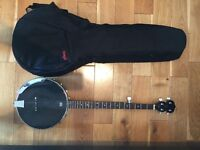 Stagg all black Banjo