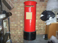!/3 scale street post box letter box Pillar box wedding