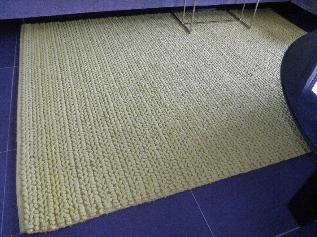 NEW! TOULEMONDE BOCHART Paris 140x200 cm lime carpet rug | in West ...