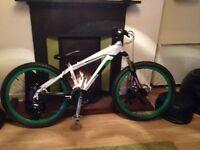 Diamondback dirt jump bike (hard tail)