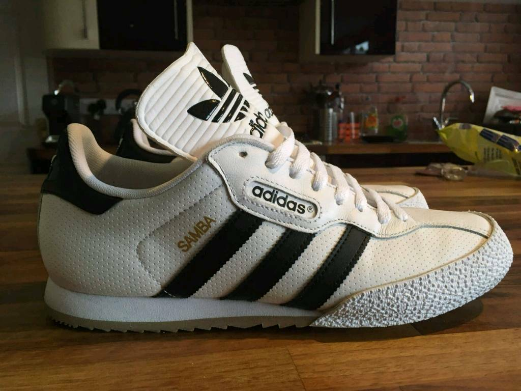 adidas originals samba super JD sports limited edition size UK 8. 5 | in Exeter, Devon | Gumtree