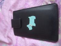 Black Radley mobile phone case