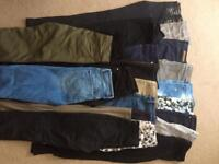 19 pairs of Size 6 mostly trousers & jeans, £3 each, Sutton, SM2 5RQ