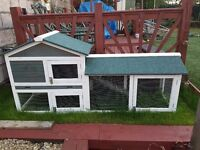 Rabbit Hutch - Large two tier with run (New) - NOW SOLD!
