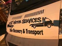 RECOVERY & TRANSPORT SERVICES FAST FRIENDLY RELIABLE SERVICE