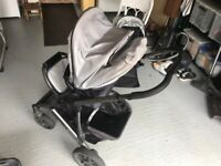 UPPABABY VISTA - PUSHCHAIR SEAT WITH HOOD