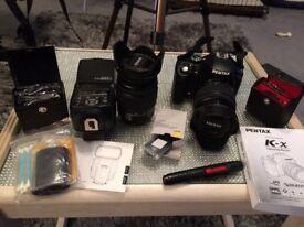 Pentax dslr camera