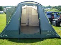 Outwell Minnesota 4 - two bedroom family tent