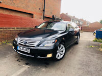 LEXUS LS 600H LONG WHEEL BASE RSR(REAR SEAT RELAXATION) SATNAV SUNROOF LEATHER SEATS FULL HISTORY