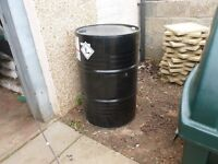 45 gallon steel drum