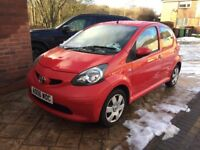 TOYOTA AYGO VVT-I + LOW MILES ,5 DOOR , LADY OWNED