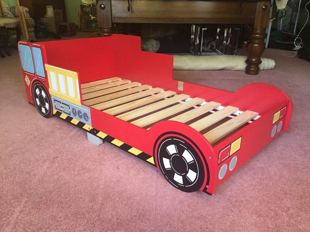 Boys Fire Engine Bed - including Mothercare mattress