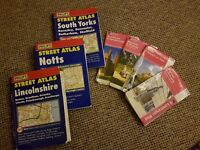 Selection of OS & Street Maps