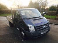 56 plate ford transit tipper 6 speed air con