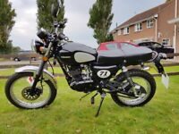 Sinnis Scrambler 125cc 2017 Only 65 dry Miles