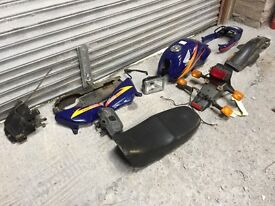 2002 Honda CG125 Bodywork etc.