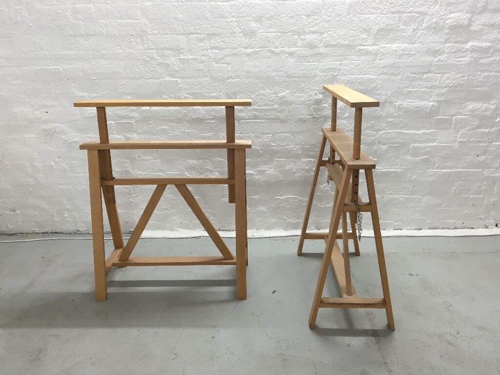 HABITAT Adjustable Trestle Table Legs in Hackney London