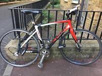Road bike with flat handlebars for sale!!