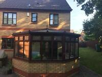 Brown upvc conservatory FREE!