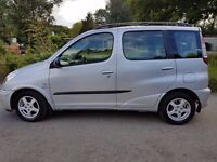 55 REG TOYOTA YARIS VERSO 1.3 VVT-I T3 ONE OWNER T/M/D/S/H IN PRISTINE CONDITION