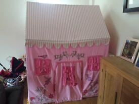 Fairy Princess Fabric Playhouse, good condition