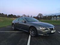 BMW 645csi, Full years MOT, SatNav, sport, auto, leather heated seats, custom alloys, CAT C