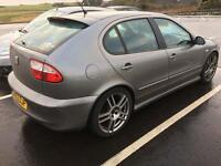 2003 Seat Leon cupra. 1.8T stage 1 remapped.
