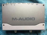 M-Audio Firewire Audiphile soundcard
