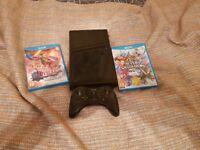 Wii U 32gb (No Gamepad but pro controller) + 2 games