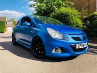 2009/09REG VAUXHALL CORSA VXR BLUE - FULL HISTORY + CAMBELT AND WATER PUMP DONE.