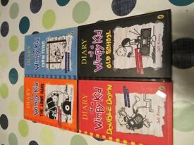 Diary of a Wimpy Kid Hardback Books