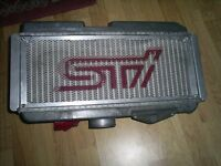 Newage JDM Subaru Impreza WRX STi Top Mount Intercooler And Cover