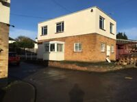Detached office block of 5 offices,kitchen, M/F wc's own carpark