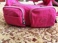 Genuine Kipling Pink Bag