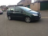 2005 FORD CMAX ZETEC 2.0 TDCI 6 SPEED GEARBOX -- FULL SERVICE HISTORY-- LONG MOT -
