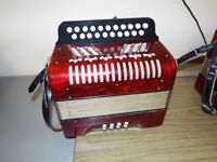 A 2 row Hohnor this accordion is like new, BC Tunning , Quick sale £250