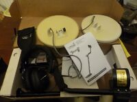 LASER TRIDENT 2 SI MOTION METAL DETECTOR TWO COILS AND EXTRAS