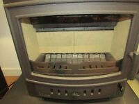 British made villager 8kw stove top quality multi fuel stove as new condition, not used £799