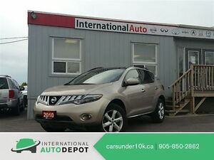 2010 Nissan Murano SL   PANO ROOF   BACK-UP CAM
