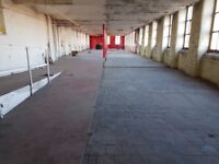 4200 sq ft warehouse/creative space. Bills, service charge included.