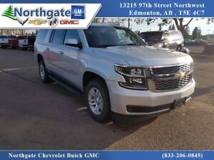 2017 Chevrolet Suburban 2nd Row Buckets, Heated Leather, Navigat