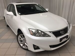 2013 Lexus IS 250 Premium AWD Package: 1 Owner, Fully Serviced
