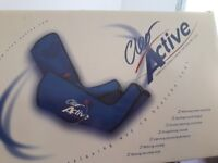 Cleo Active Massaging boots that allevites aches and pains. Increase circulation. Plus more
