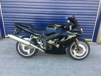 2000 TRIUMPH TT600 , HPI CLEAR , 12 MONTHS MOT , TIDY FOR YEAR CHEAP SUPERSPORT 600cc