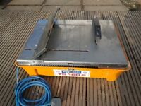 Stainless steel 240V Electric wet tile saw Diamont Boart TS180S