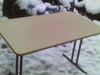 caravan free standing table